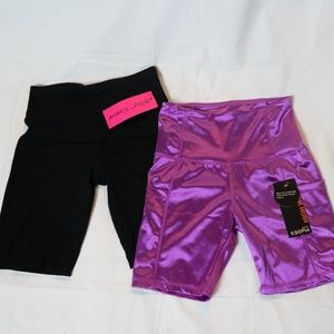 NWT Cycling/Yoga Athletic Shorts Size S Bundle (2)